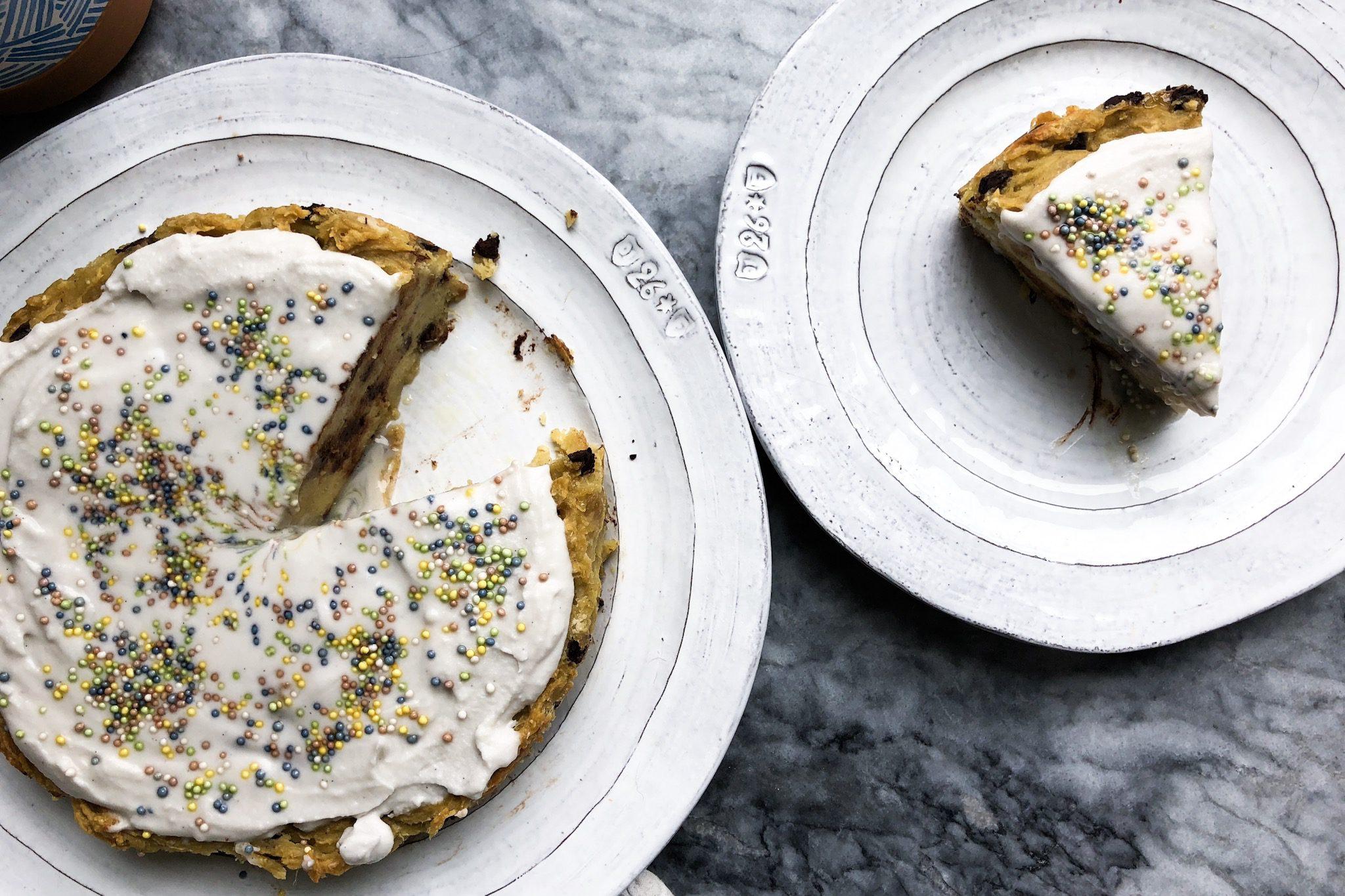 sweet potato paleo cake