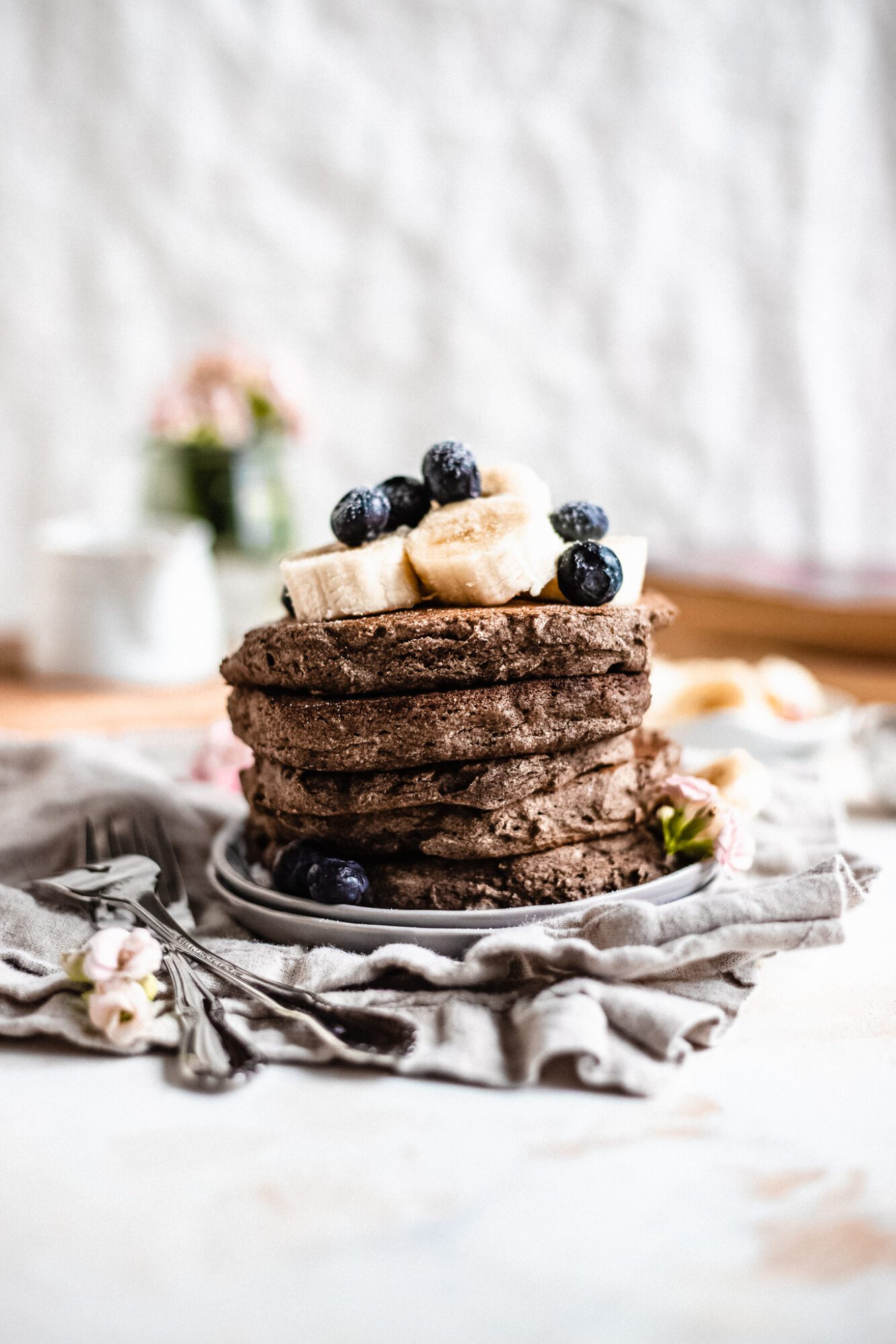 Vegan Buckwheat Pancakes Gf Df The Banana Diaries
