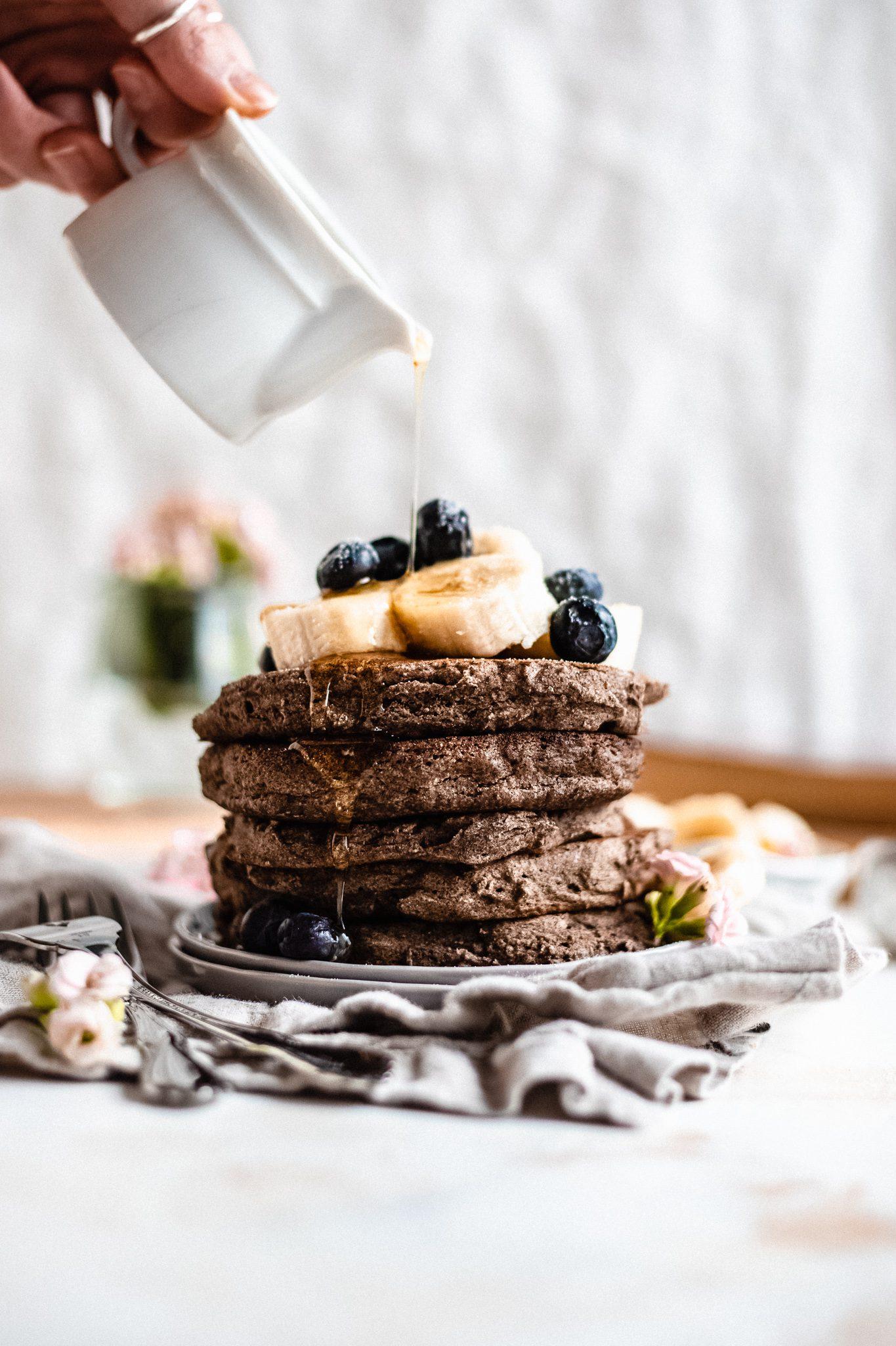Vegan Buckwheat Pancakes {GF, DF}