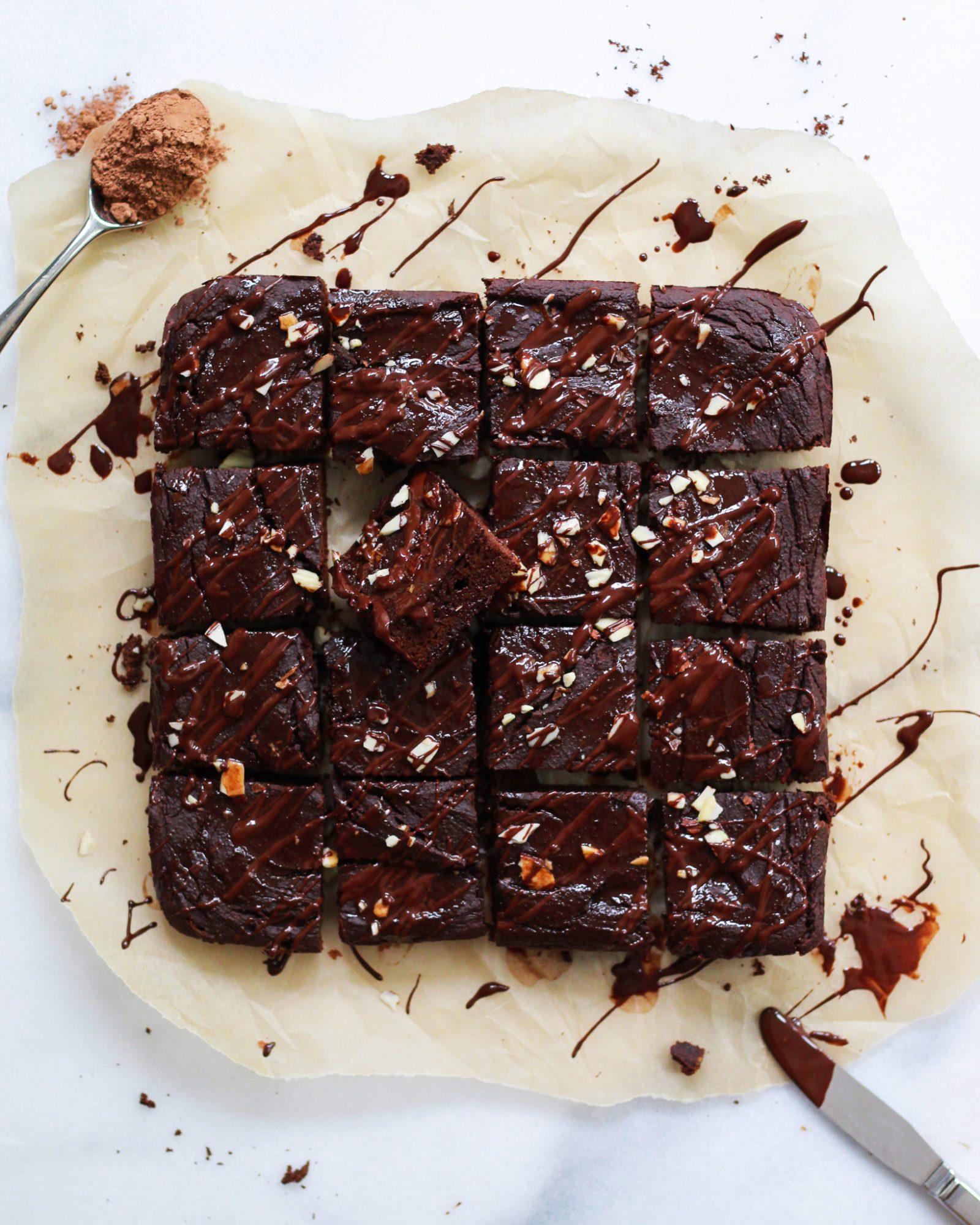 fridge sweet potato brownies