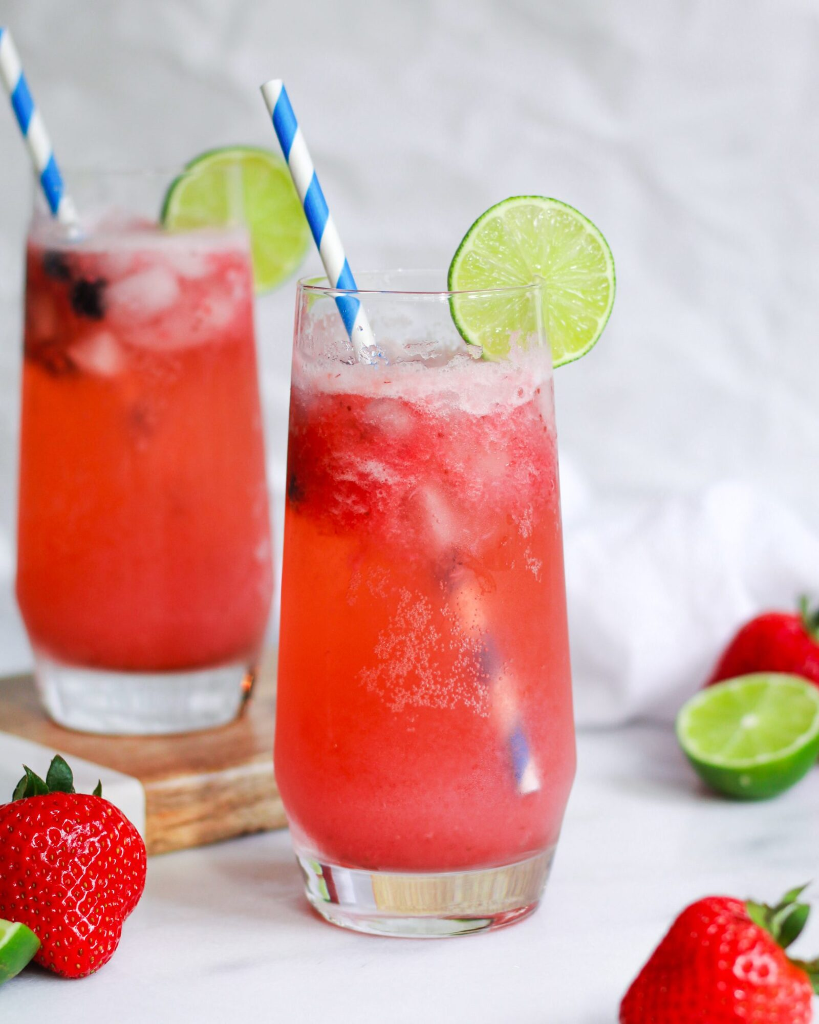 Easy Virgin Strawberry Margarita The Banana Diaries