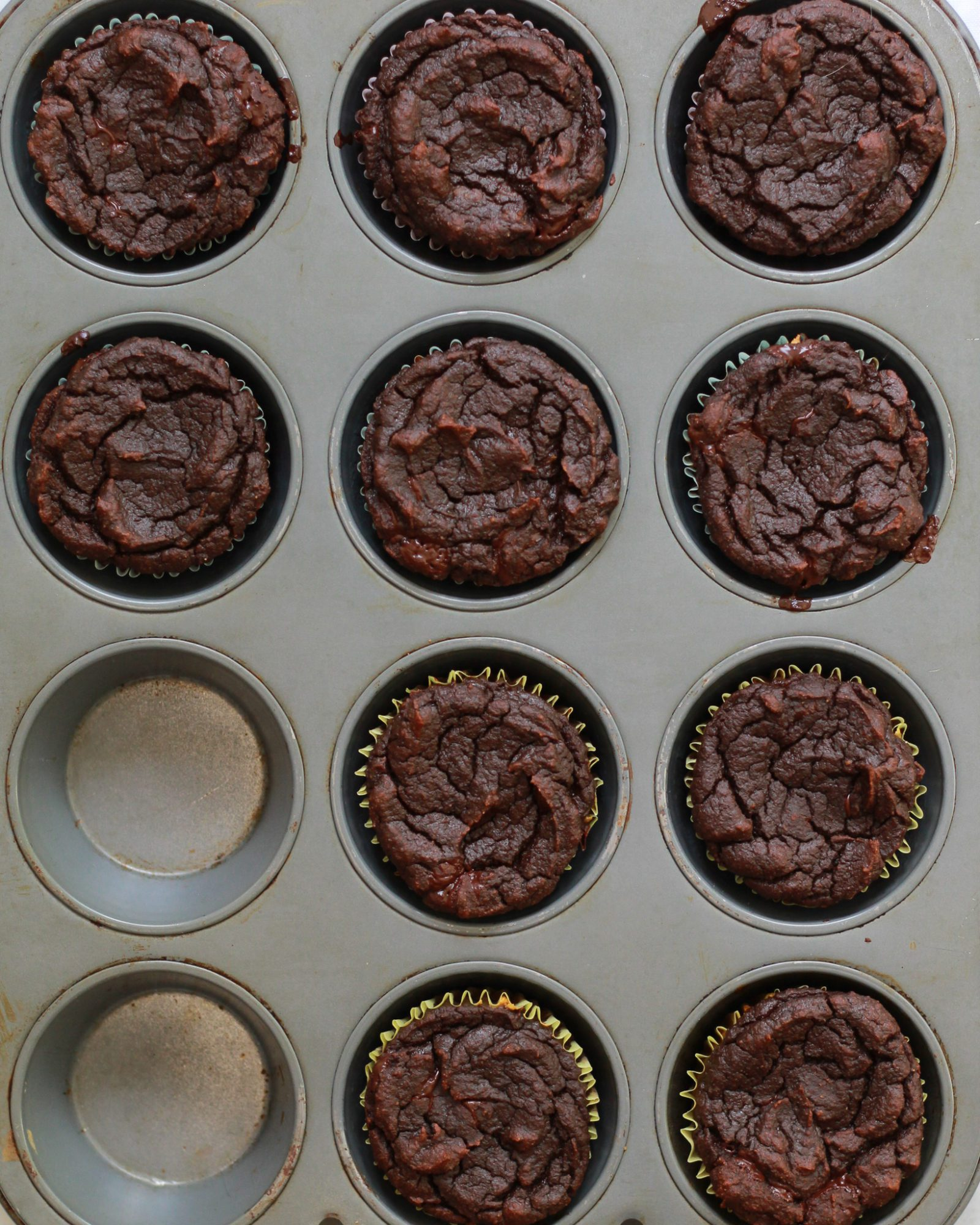 baked s'mores cupcakes
