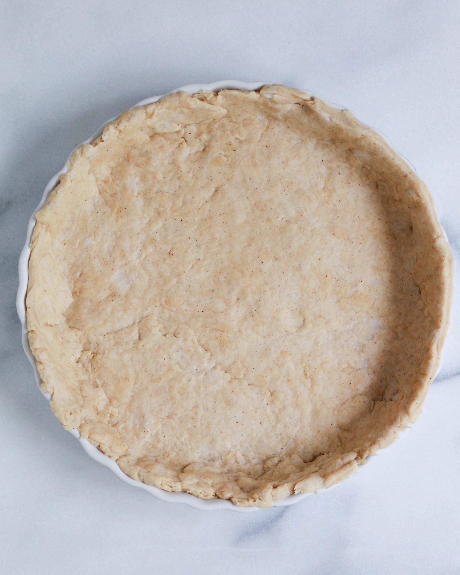 vegan pie crust made with coconut oil