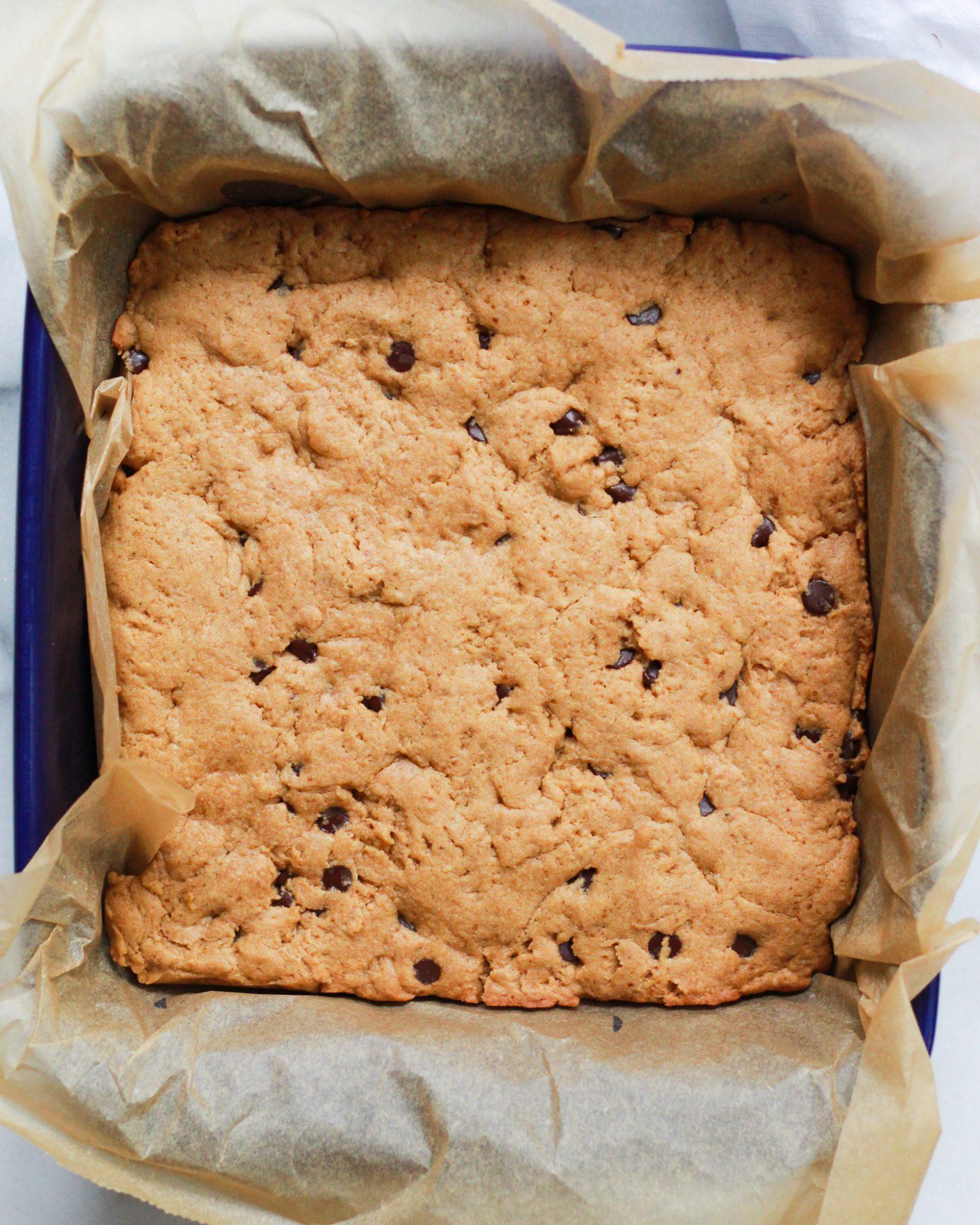 vegan cookie layer baked