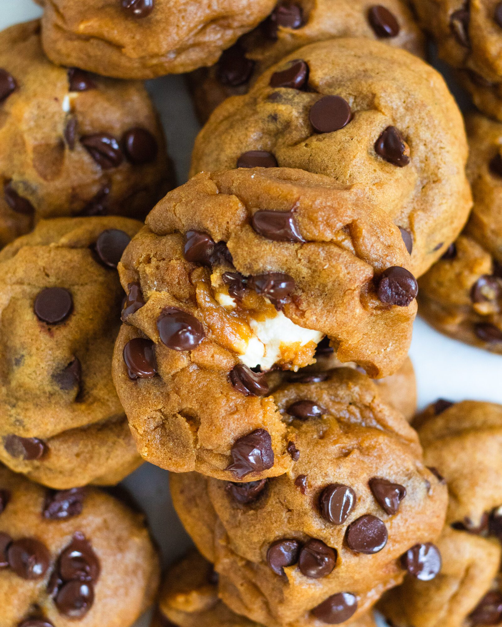 pile of marshmallow cookies