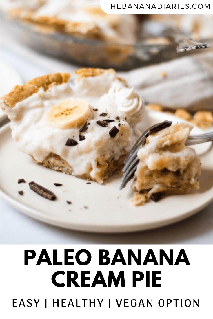 pinterest image for banana cream pie