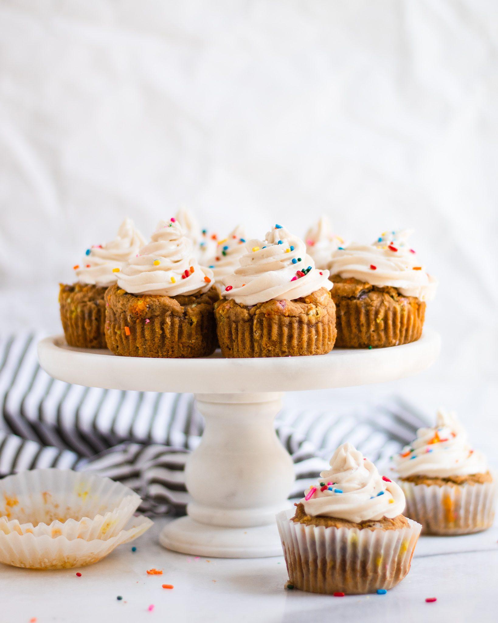 Vegan Vanilla Cupcakes (Paleo)