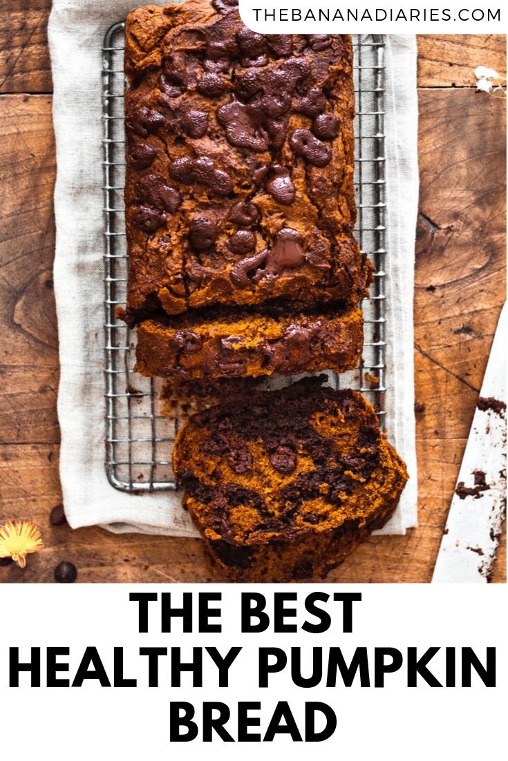 pinterest image for pumpkin bread
