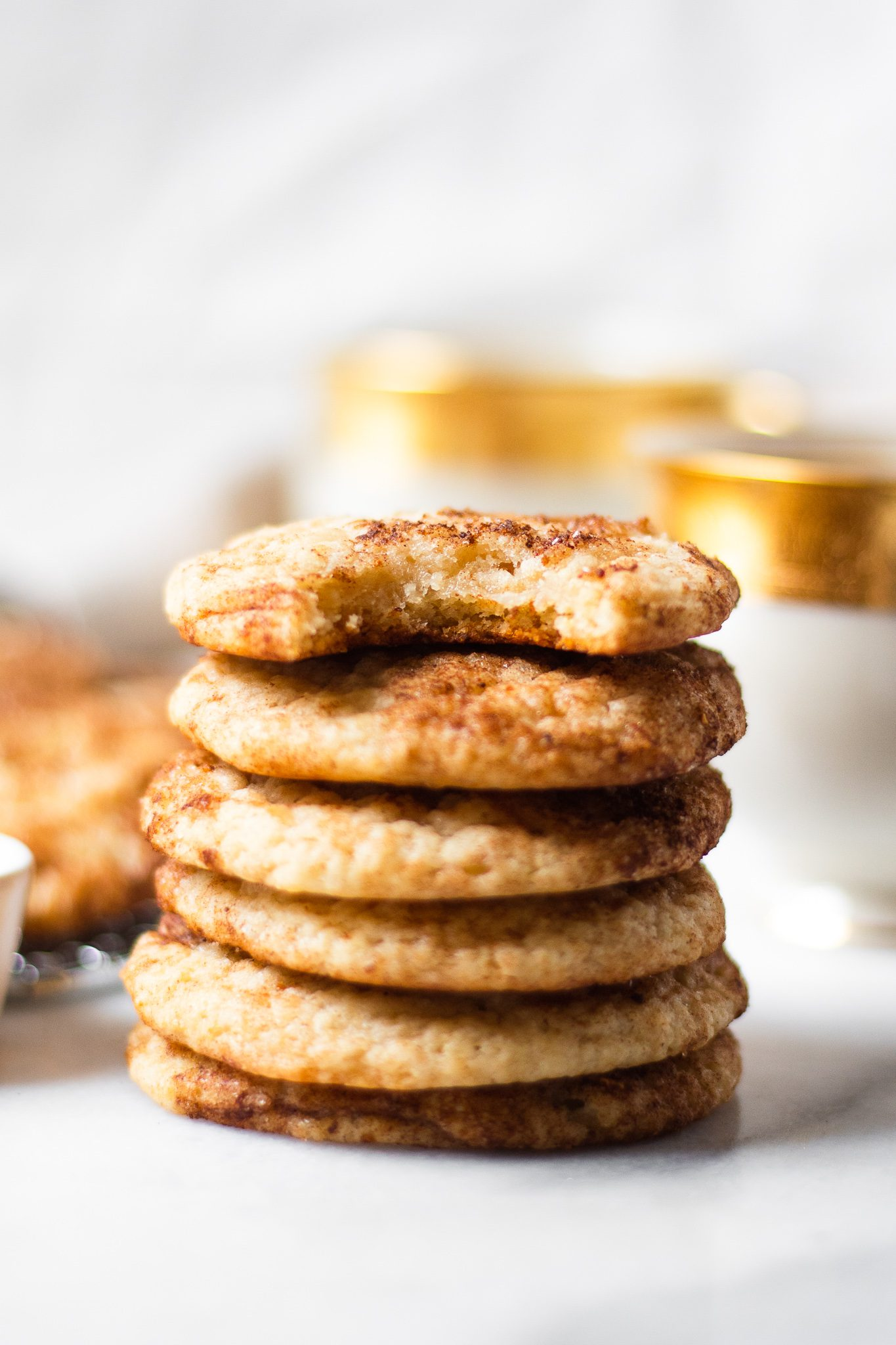 The BEST Snickerdoodle Cookie Recipe (you won't believe they're healthy!)