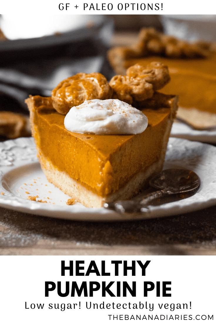 pinterest image for pumpkin pie