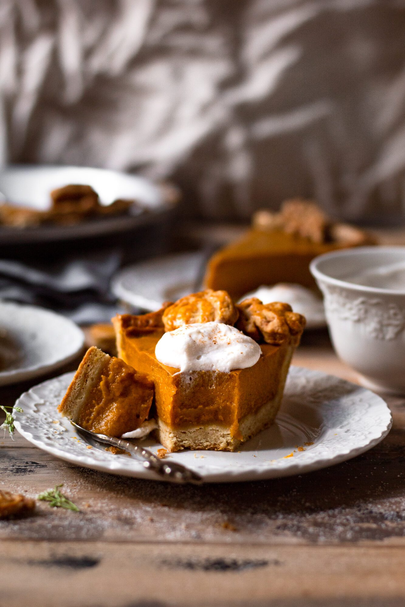 eaten pumpkin pie