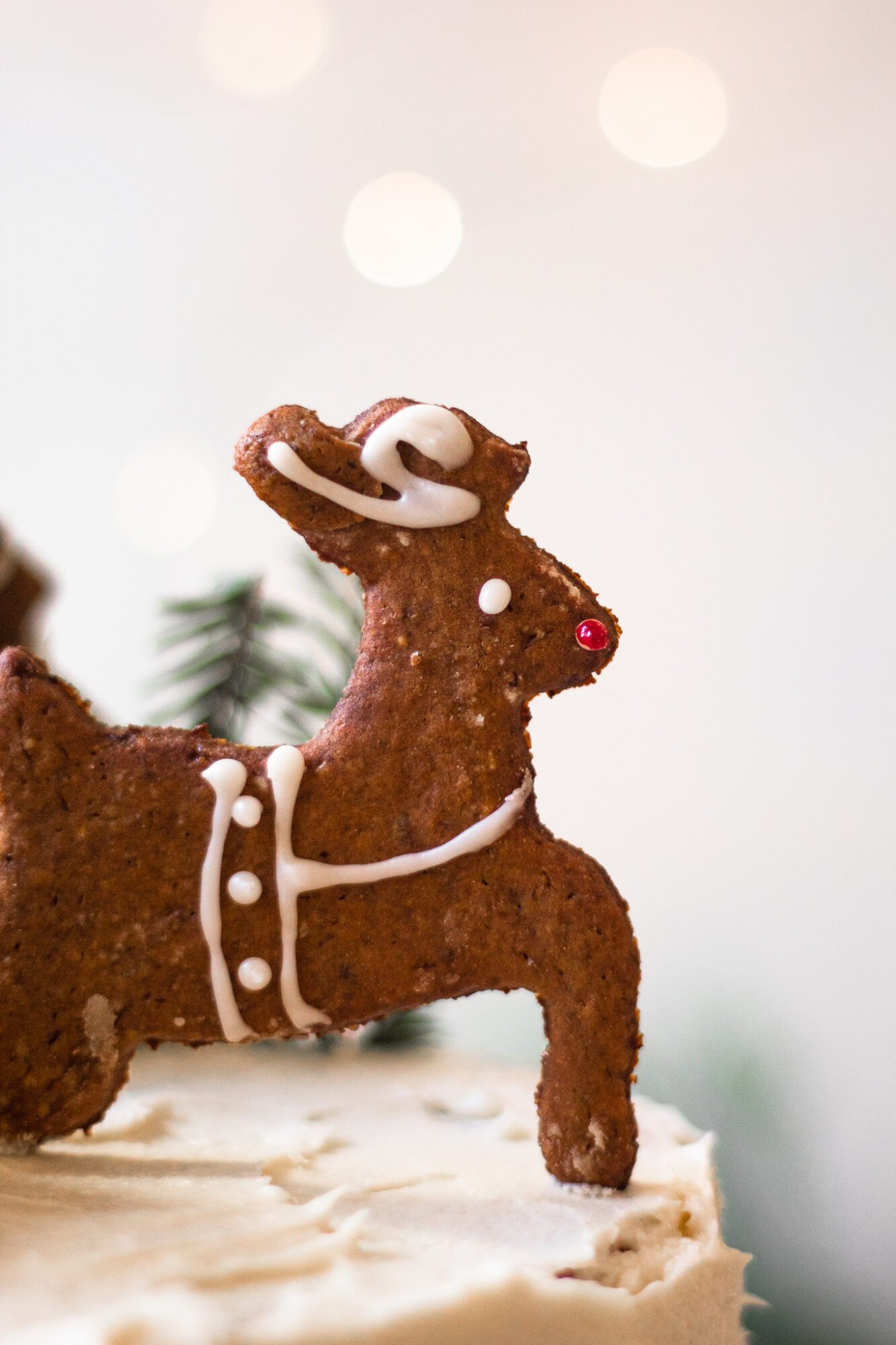 gingerbread rudolph