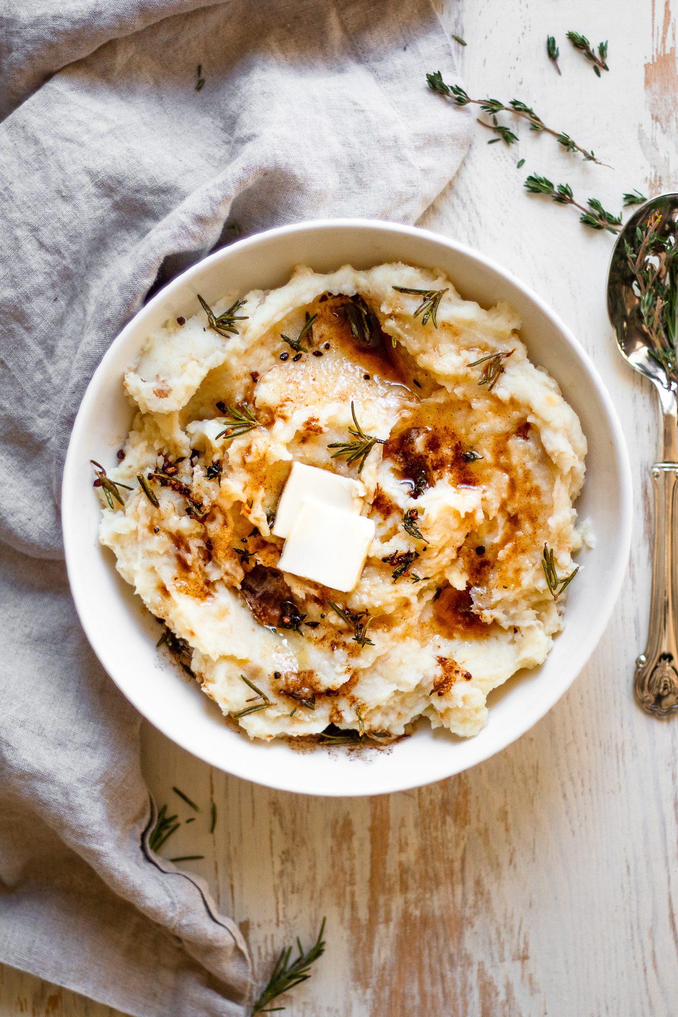 Whole30 Mashed Potatoes (Vegan + Paleo!)