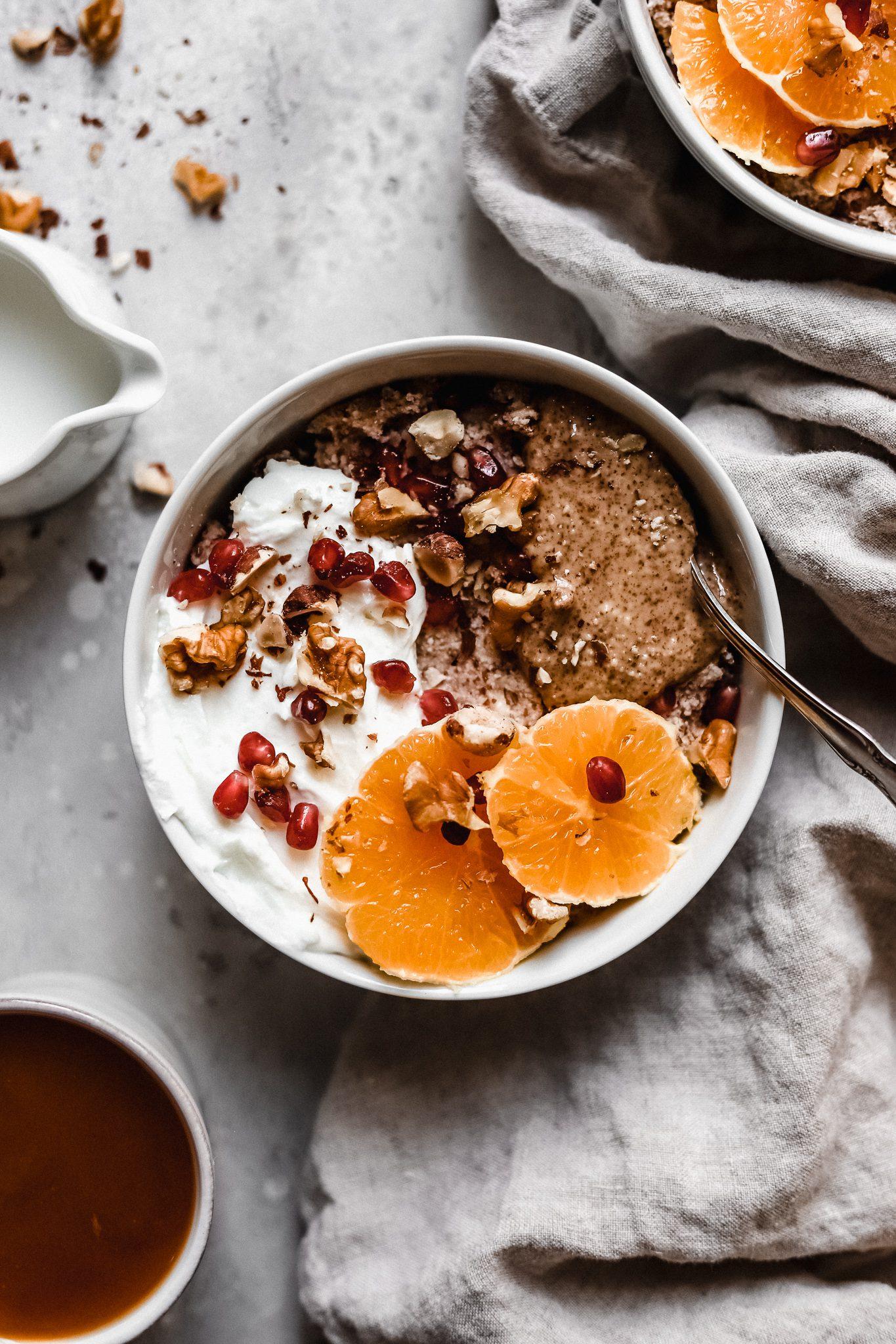 Vegan Grain Free Hot Cereal (Whole30, Paleo, Gluten Free)