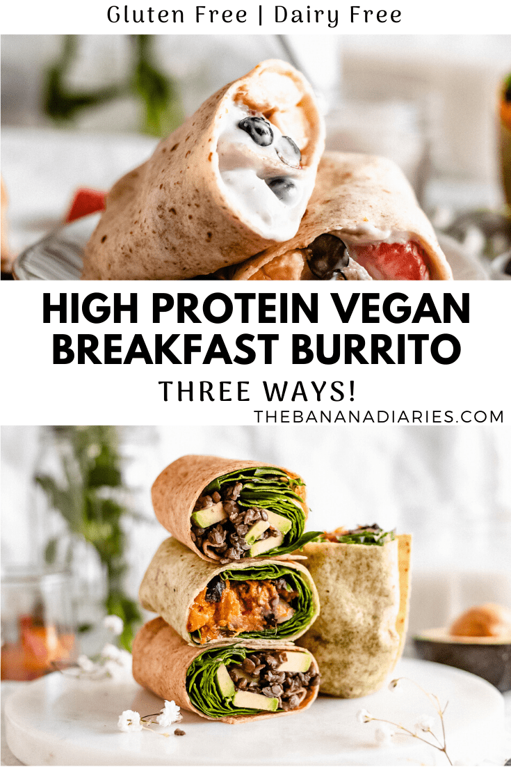 pinterest image for burritos