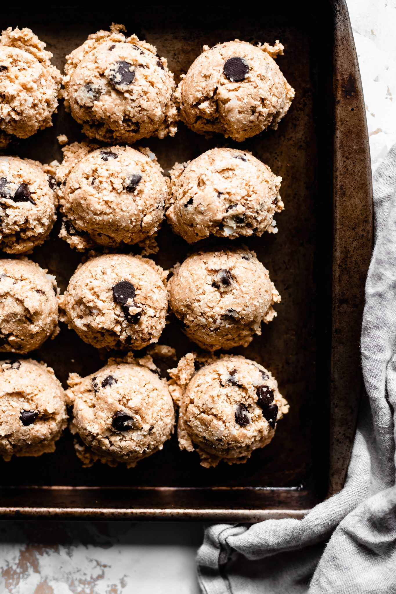 Vegan Healthy Cookie Dough (Gluten Free)