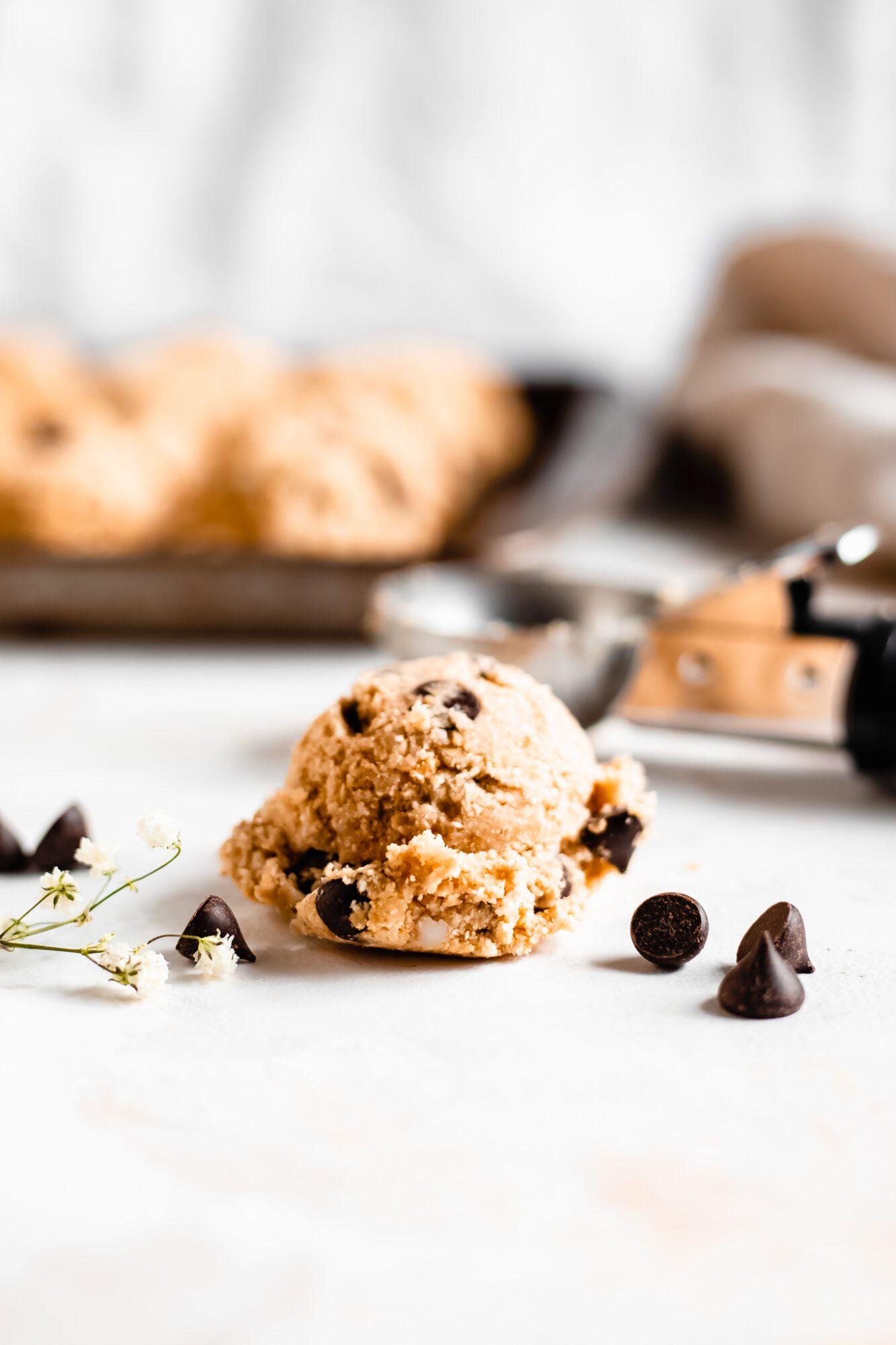 scoop of cookie dough