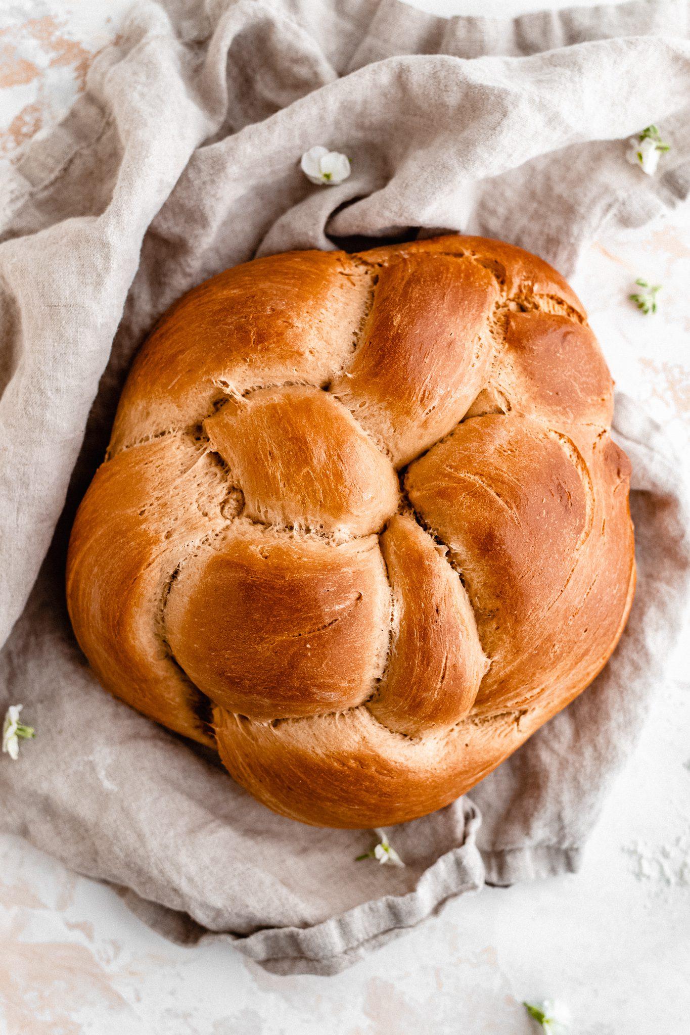 Vegan Challah Bread The Banana Diaries