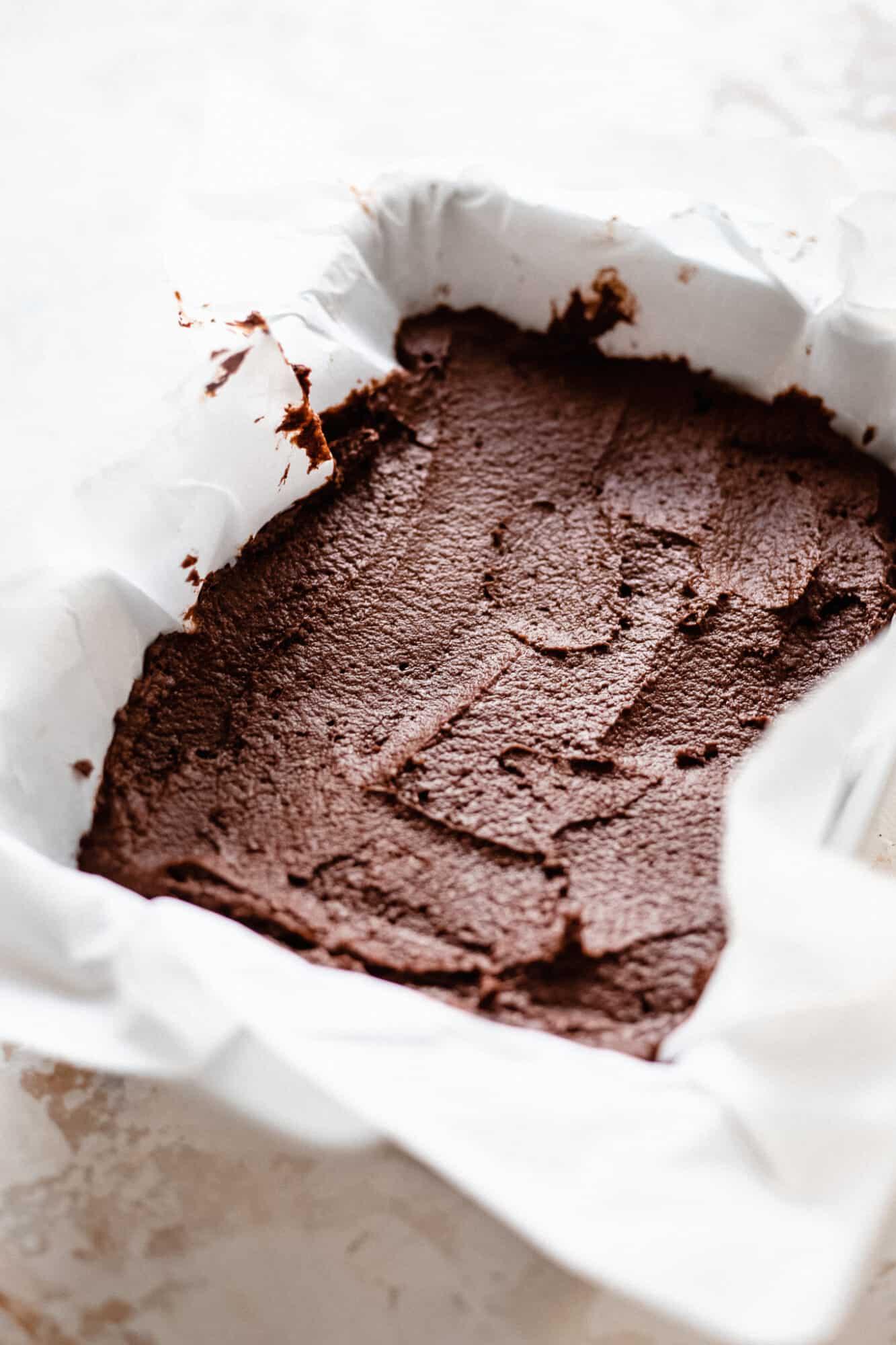 brownie batter unbaked