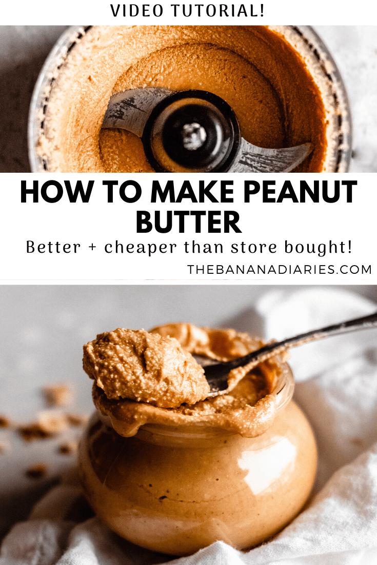 pinterest image for peanut butter