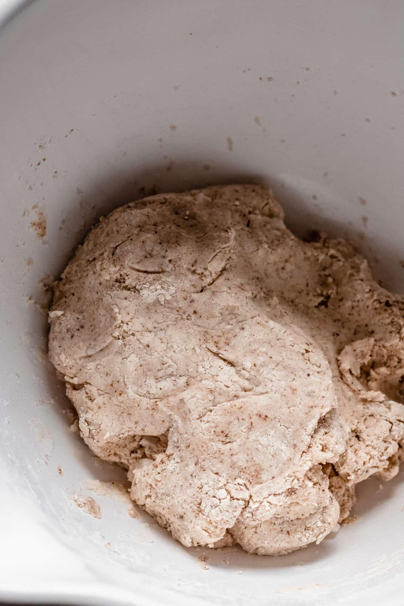 dough for vegan biscuit