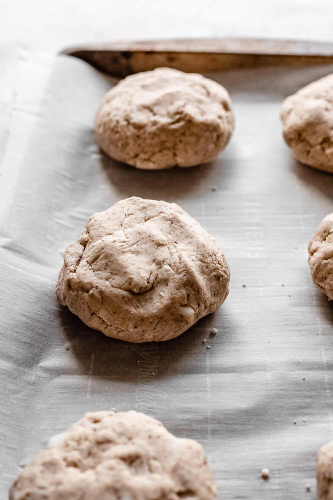 raw vegan biscuits