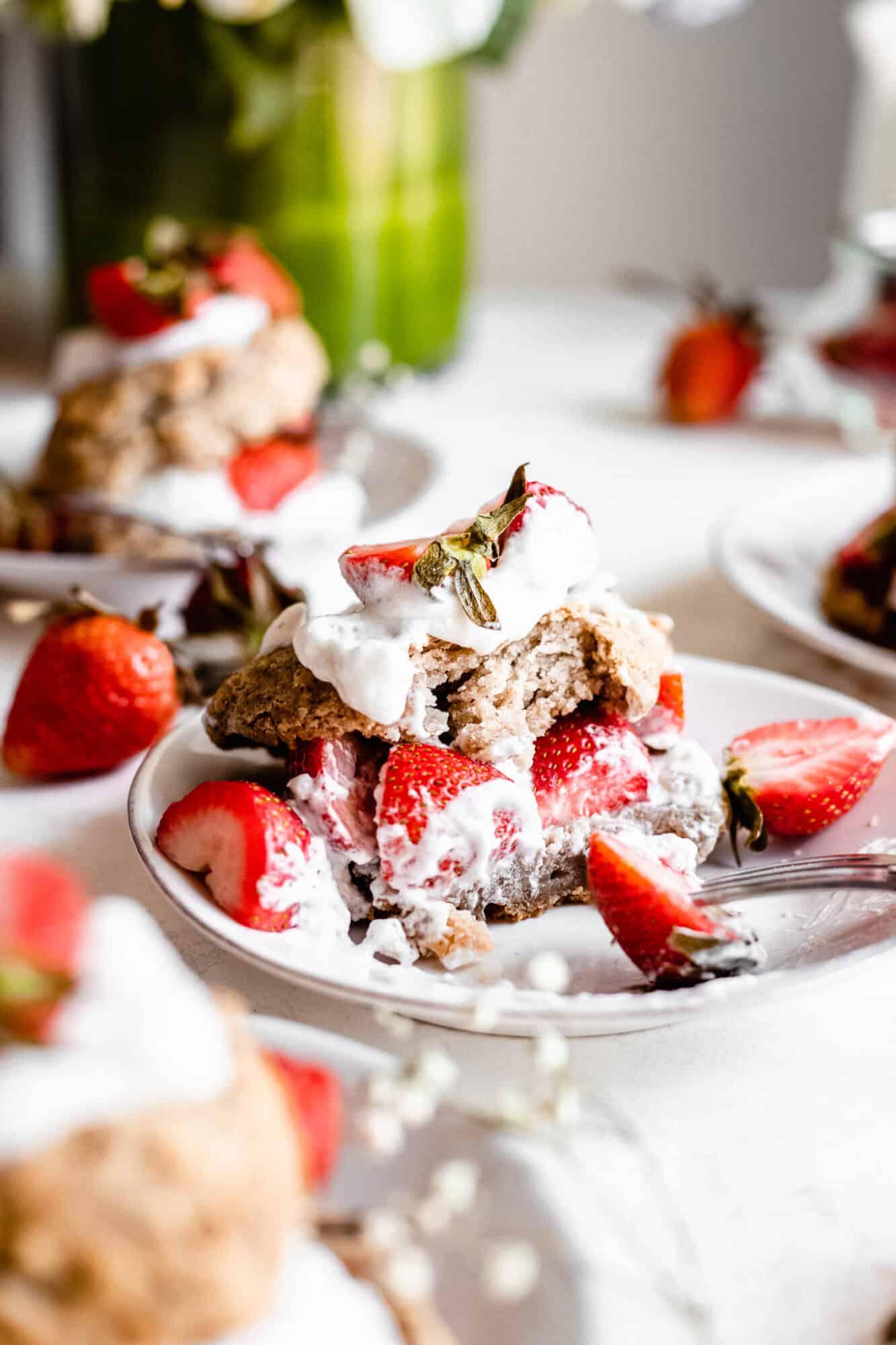 eaten vegan strawberry shortcake