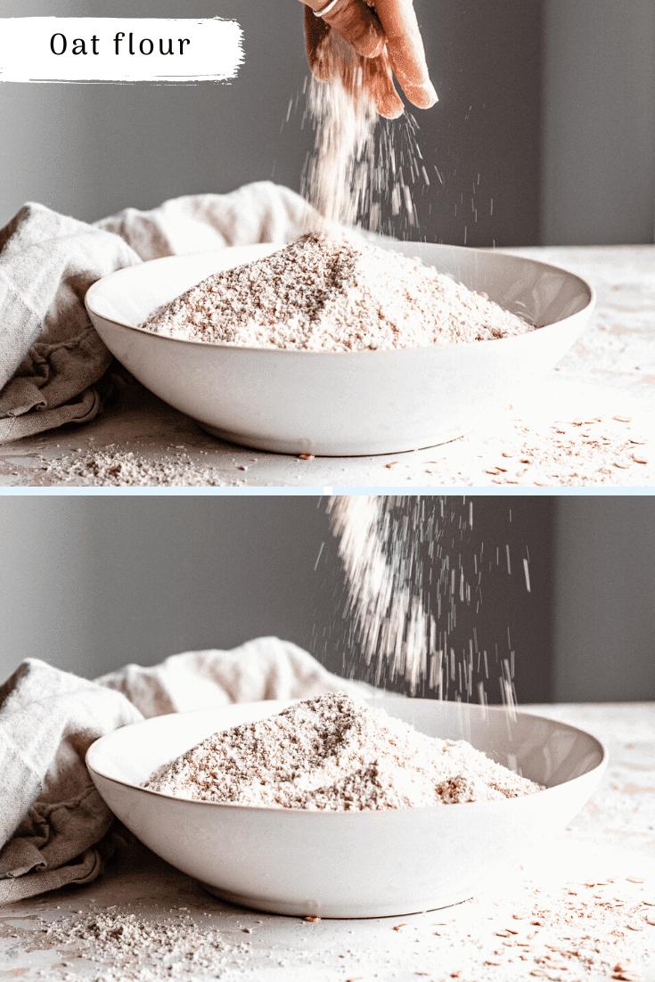 sprinkling flour