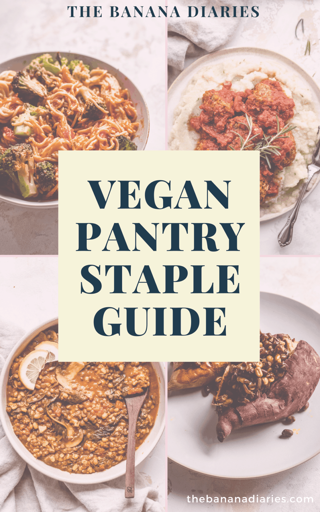 pantry staple guide book cover