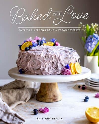 book cover of Baked with Love