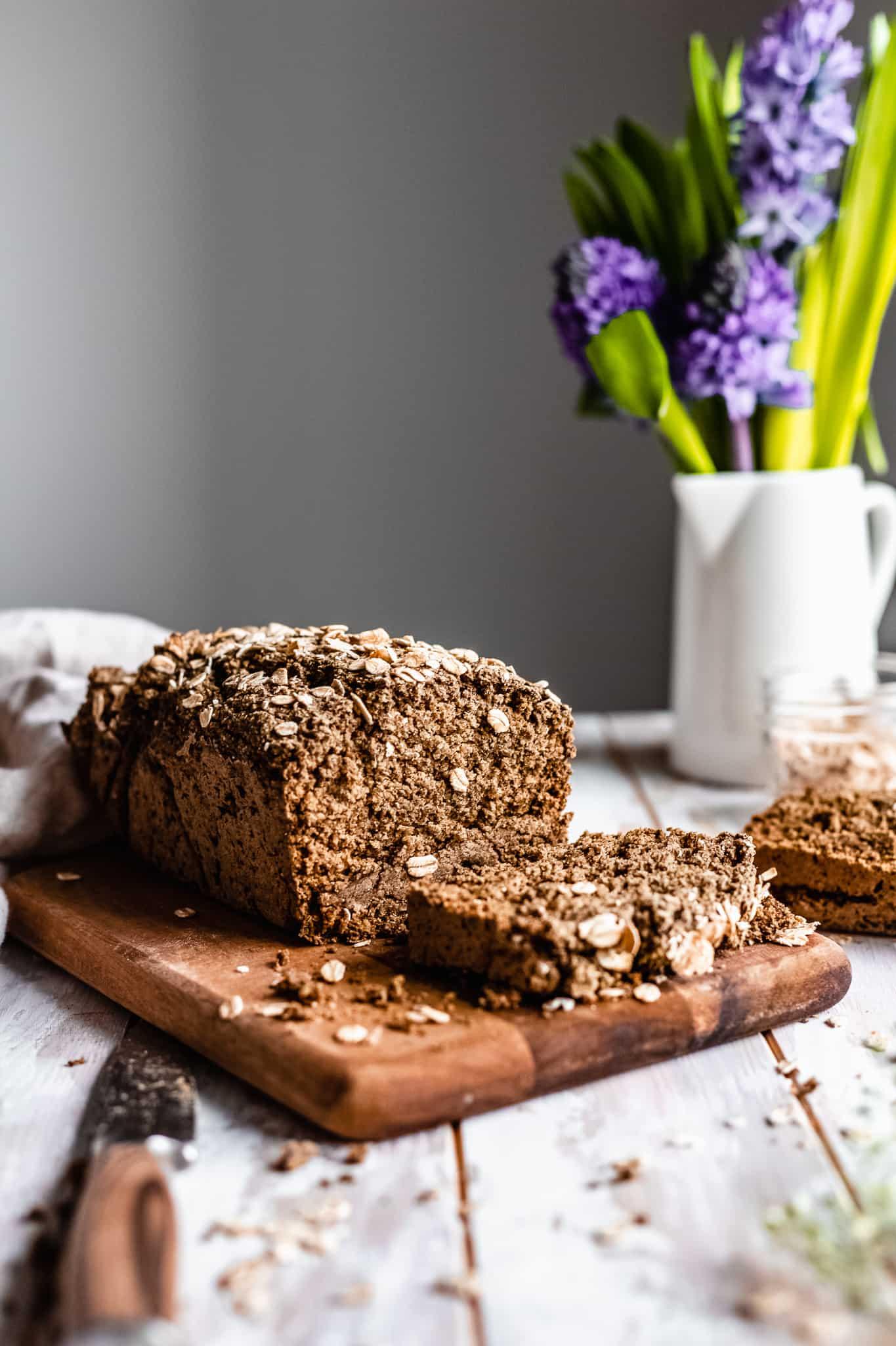 Vegan Gluten Free Oat Bread (Yeast Free)