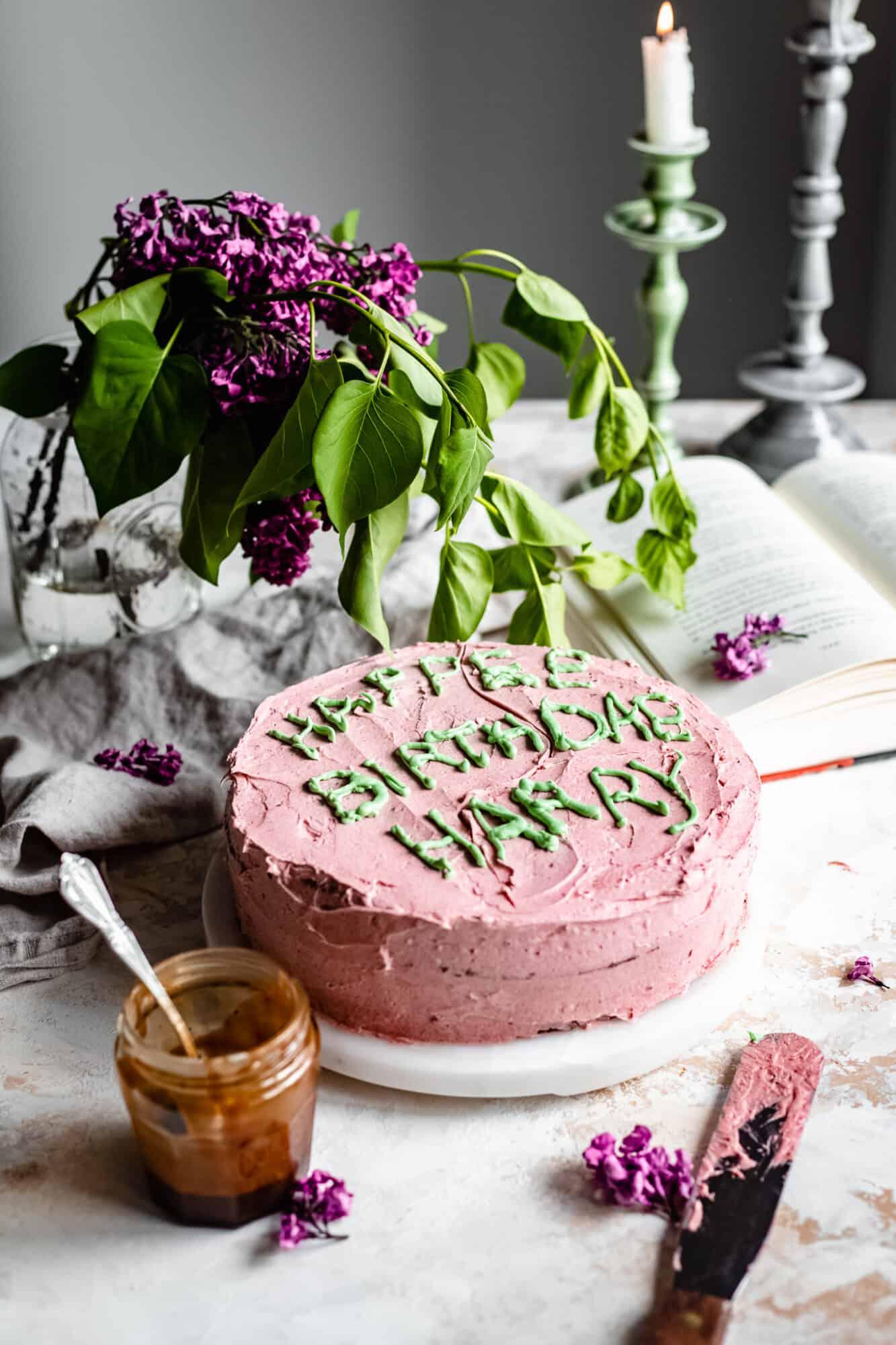 harry potter scene with birthday cake