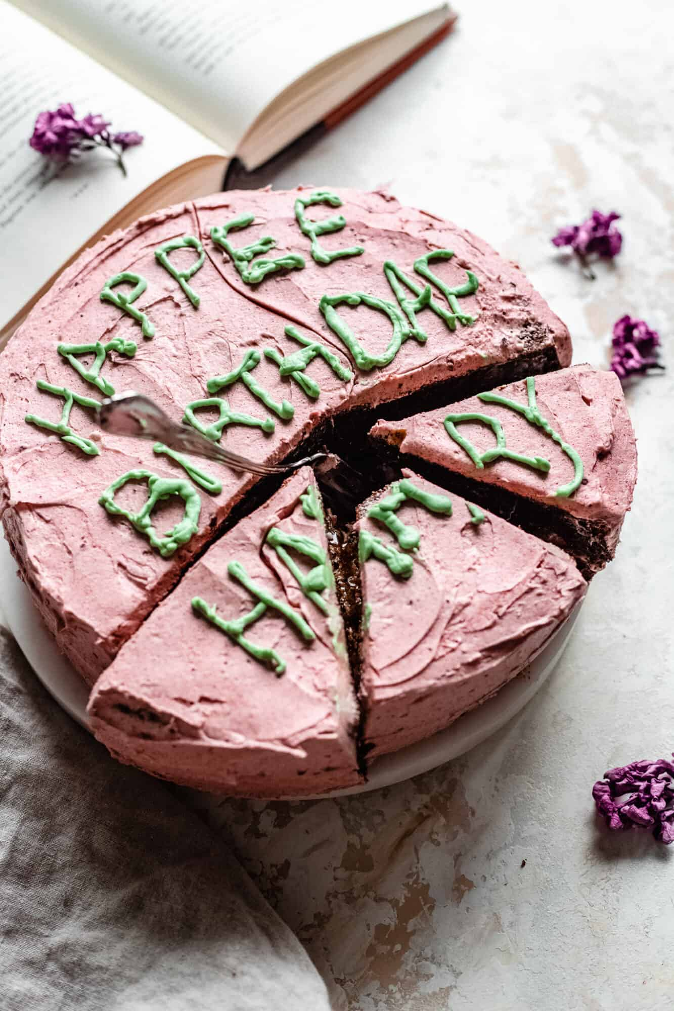 Vegan Harry Potter Birthday Cake The Banana Diaries Ive been hitting the links and i feel like ive learned a lot this past week. vegan harry potter birthday cake the