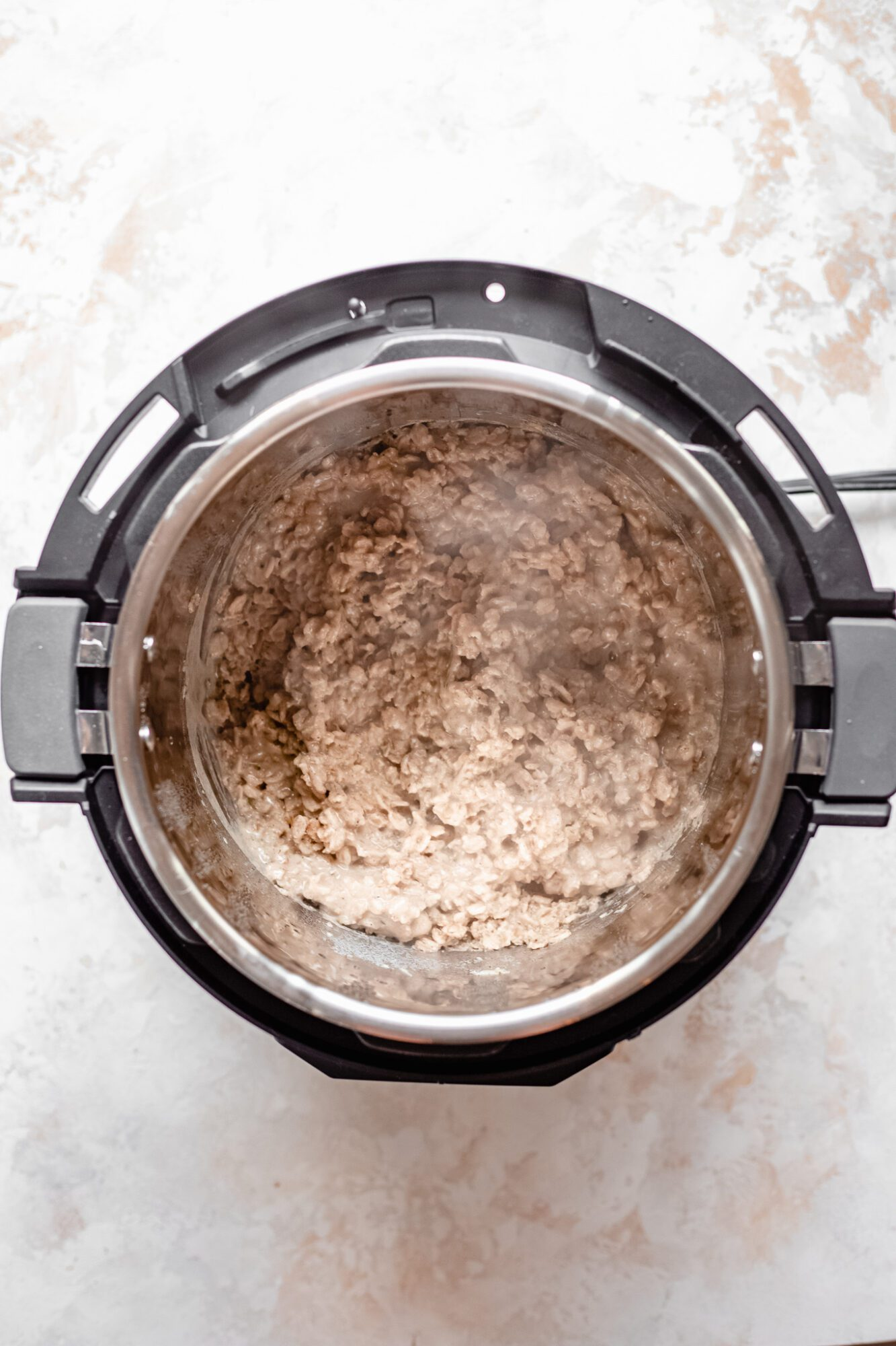 cooked oats in instant pot
