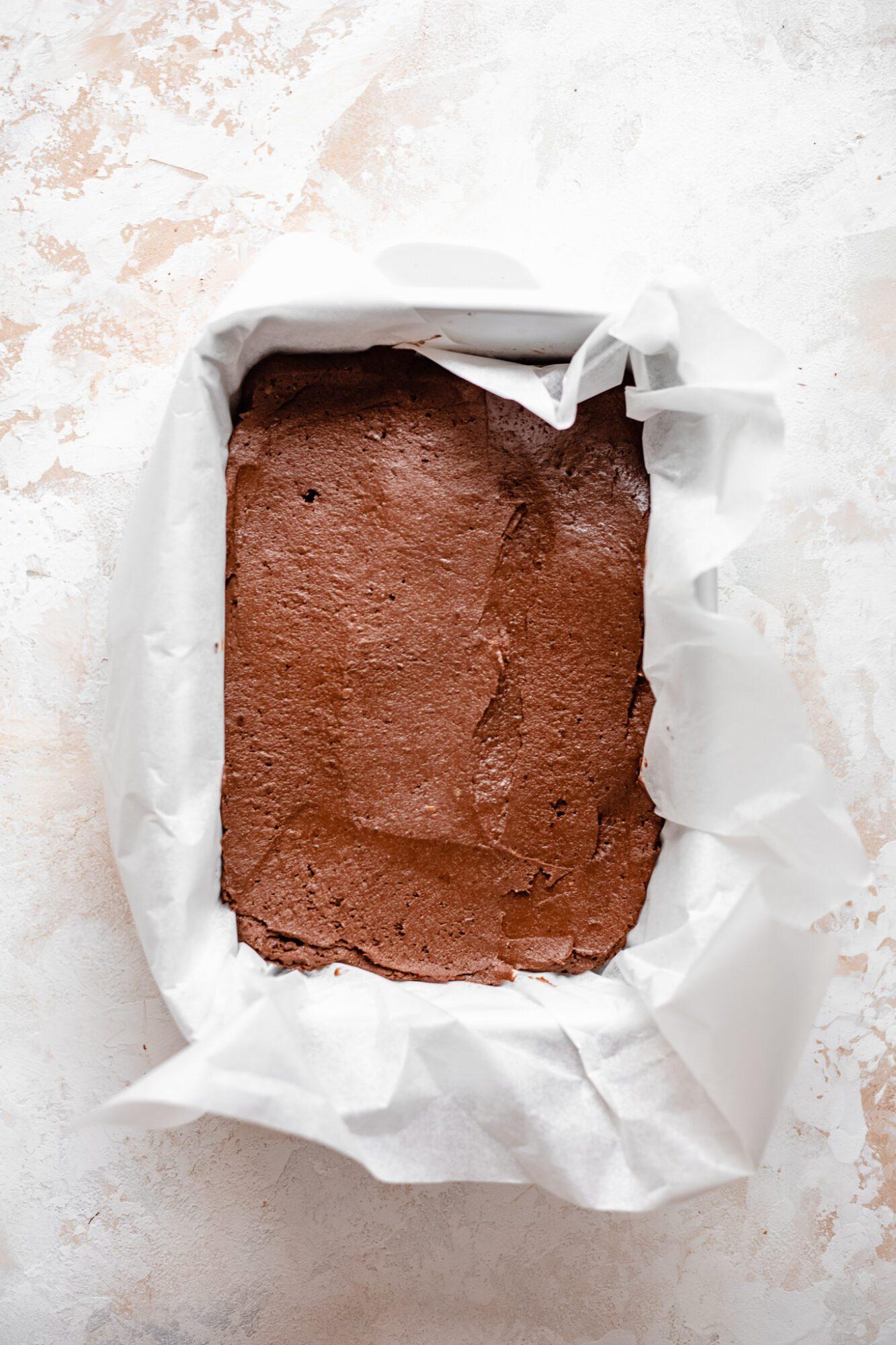 sweet potato brownie batter