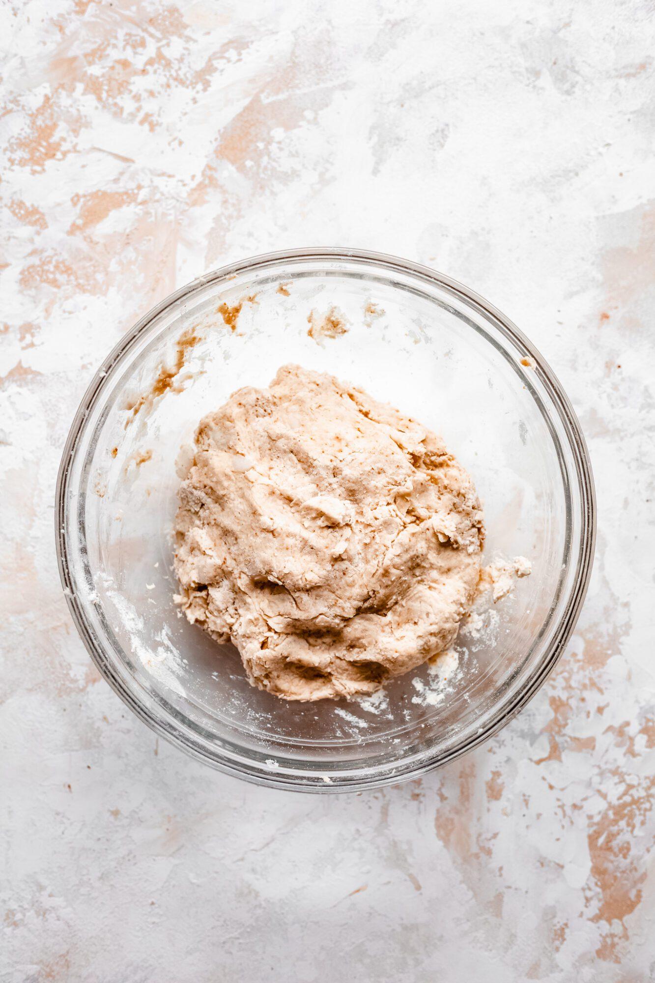 pie dough in bowl