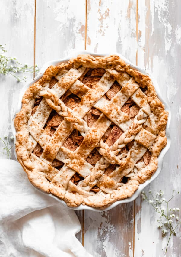 The BEST Homemade Healthy Apple Pie