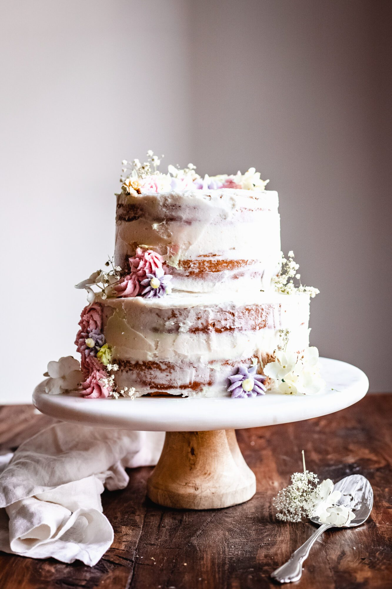 Homemade Vegan Wedding Cake Recipe The Banana Diaries