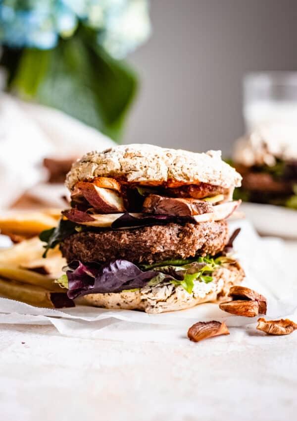 Vegan Quinoa Burgers (No Beans!)