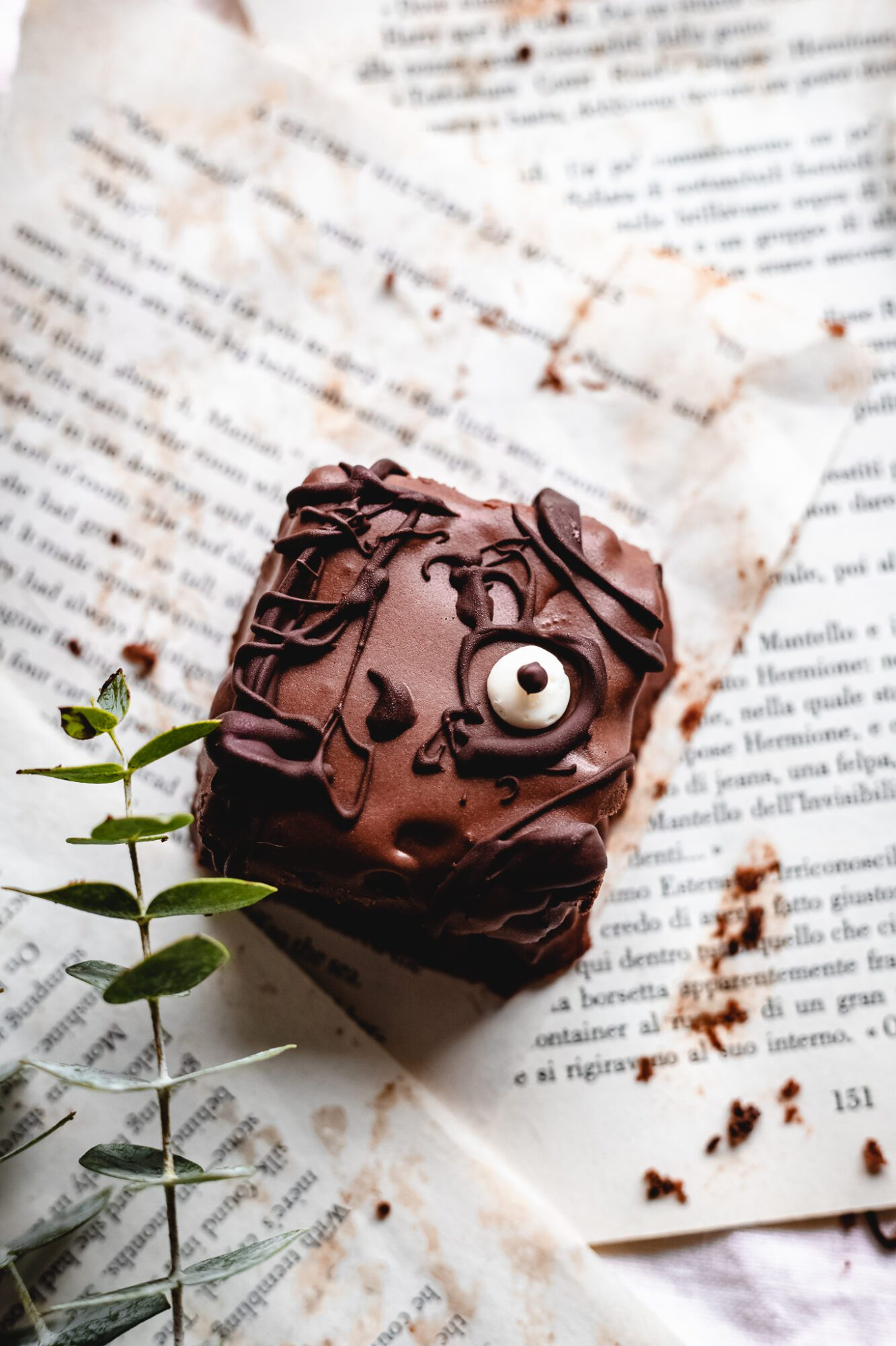 Vegan Hocus Pocus Spellbook Brownies The Banana Diaries